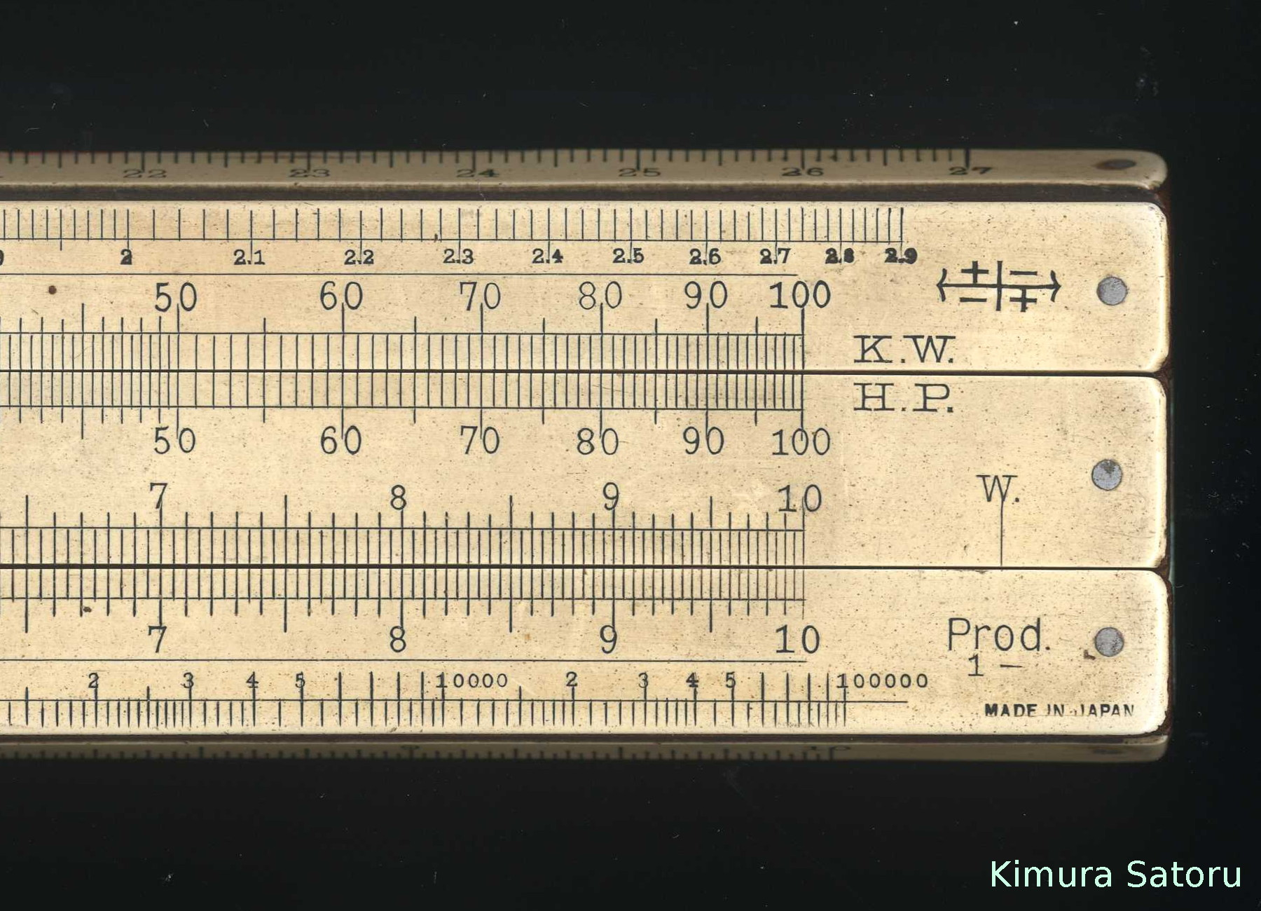 sun hemmi slide rule manual