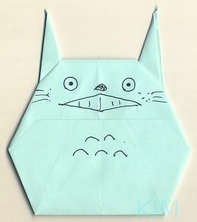 ハート 折り紙 折り紙トトロの作り方 : keisanjyaku.com